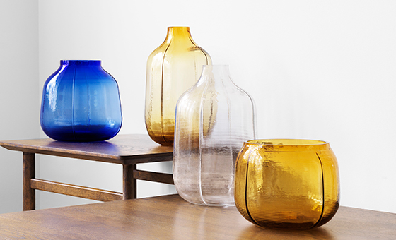 New: Step vases