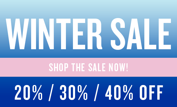 The Winter Sale continues!