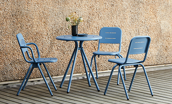 New: Ray outdoor furniture